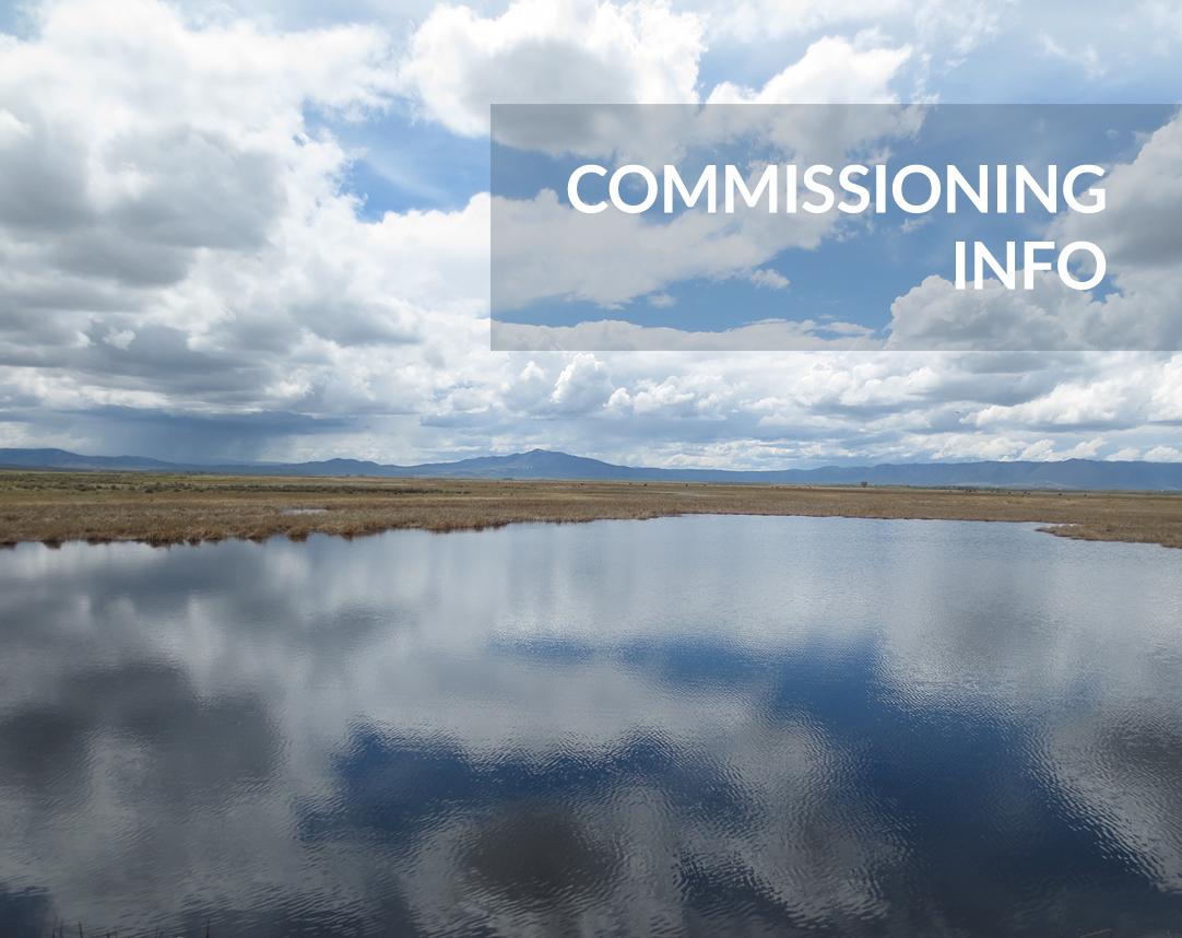 Commissioning Info